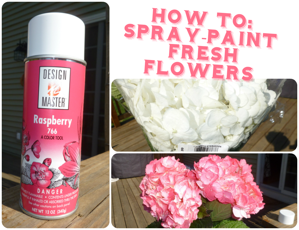 Lazydiy spray painting fresh flowers really leah loudly how to spray paint flowers izmirmasajfo